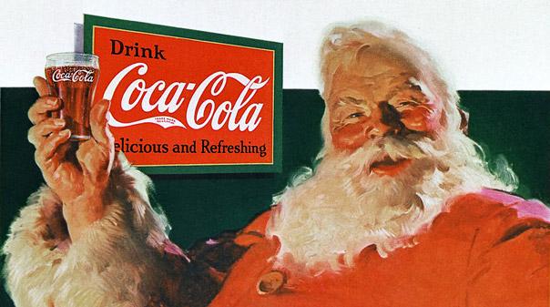 sinterklass coca cola christmas