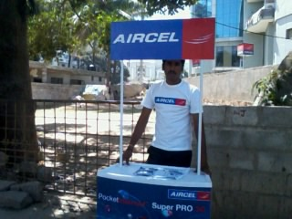 aircel street booth