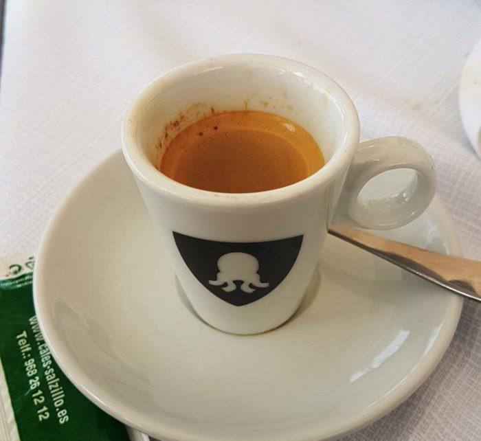 Café, Murcia, Restaurante el Pulpito