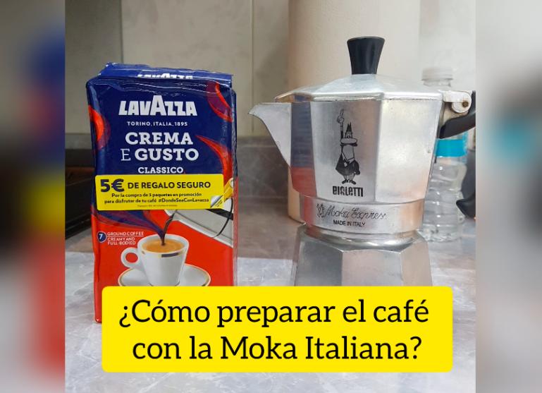 cómo usar la cafetera italiana