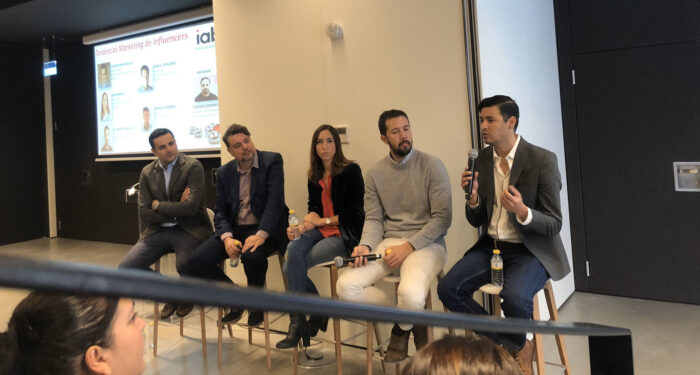 panel marketing influencia IAB spain